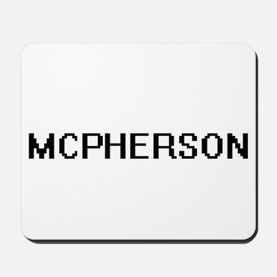 Mcpherson digital retro design Mousepad