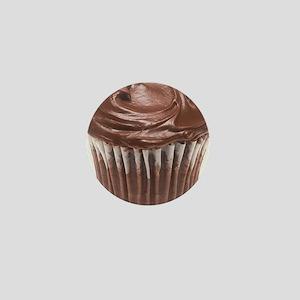 Chocolate Cupcake Mini Button