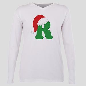 Christmas Letter R Alphabe T-Shirt