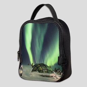 Northernlights Neoprene Lunch Bag