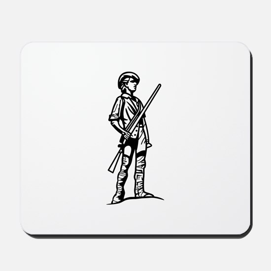Minuteman Outline Mousepad