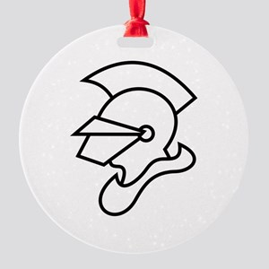 Knight Outline Ornament
