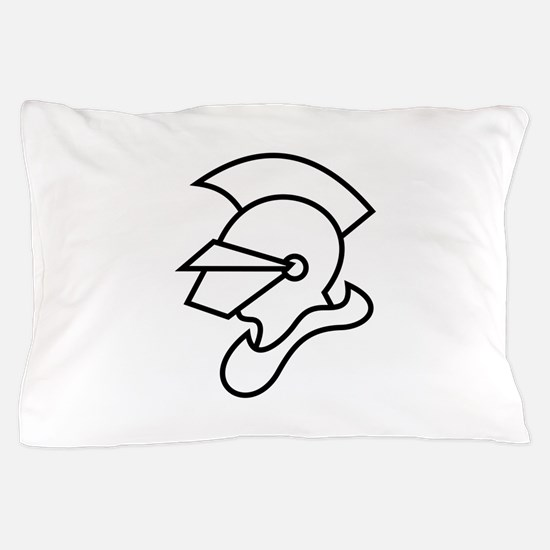 Knight Outline Pillow Case