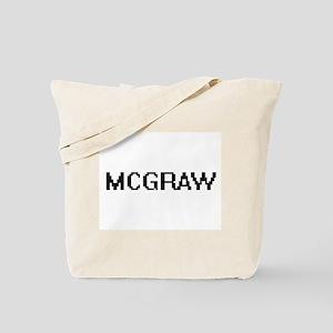 Mcgraw digital retro design Tote Bag