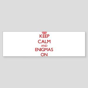 ENIGMAS Bumper Sticker