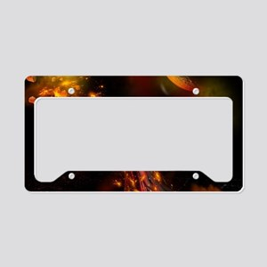 The ruler License Plate Holder