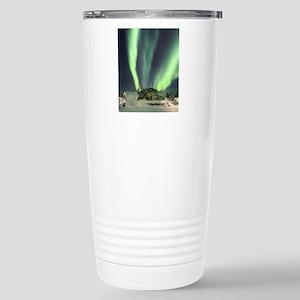 Northern Lights Stainless Steel Travel Mug