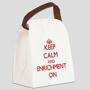 ENRICHMENT Canvas Lunch Bag