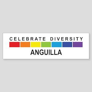 ANGUILLA - Celebrate Diversit Bumper Sticker