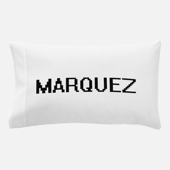 Marquez digital retro design Pillow Case
