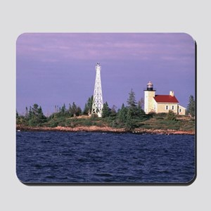 Copper Harbor Lighthouse Mousepad