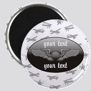 Personalized Aviation Magnets
