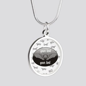 Personalized Aviation Necklaces