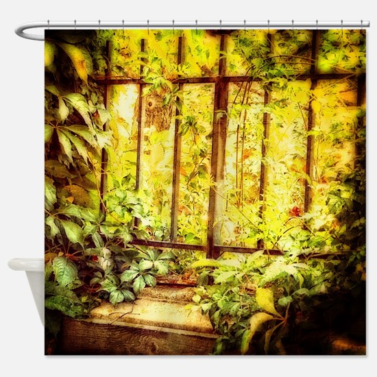 Funny Gardens Shower Curtain