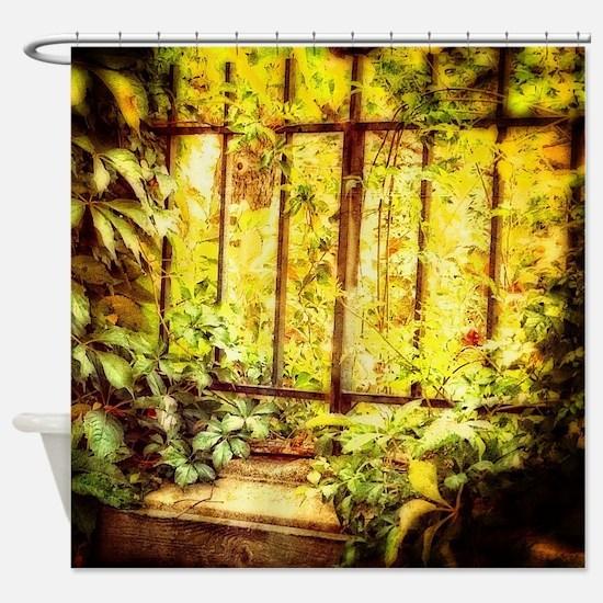 Cute Gardener Shower Curtain