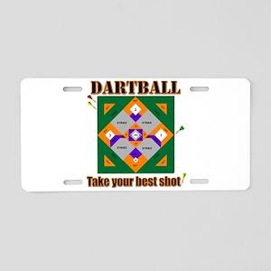 Dartball Board Aluminum License Plate
