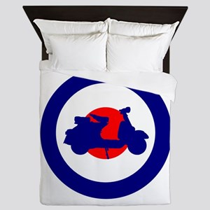 Mod Bulls Eye Queen Duvet