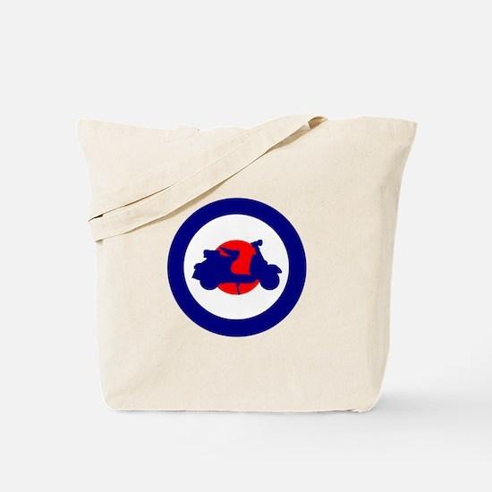 Mod Bulls Eye Tote Bag