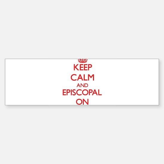 EPISCOPAL Bumper Bumper Bumper Sticker