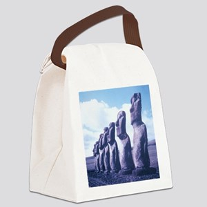 Easter Island Statues Canvas Lunch Bag