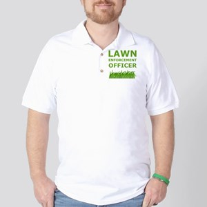 Lawn Officer Green Golf Shirt