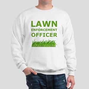 Lawn Officer Green Sweatshirt