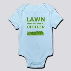 Lawn Officer Green Body Suit