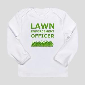 Lawn Officer Green Long Sleeve T-Shirt