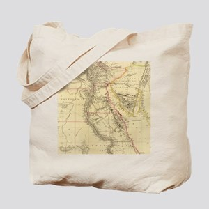 Vintage Map of Egypt (1832)  Tote Bag