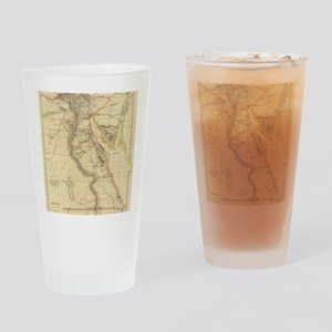 Vintage Map of Egypt (1832)  Drinking Glass