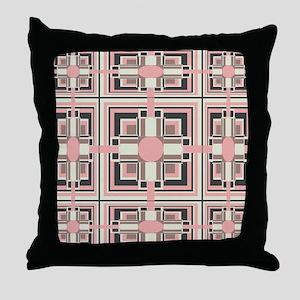 Art Deco Geometrics Throw Pillow