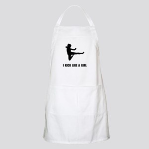 Kick Like A Girl Apron