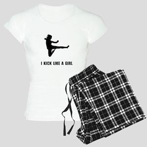 Kick Like A Girl Women's Light Pajamas