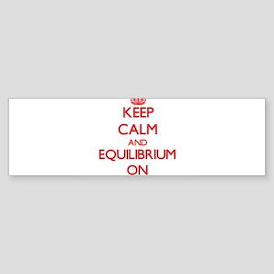 Equilibrium Bumper Sticker