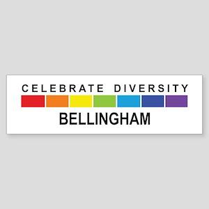 BELLINGHAM - Celebrate Divers Bumper Sticker