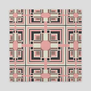 Art Deco Geometrics Queen Duvet