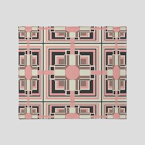 Art Deco Geometrics Throw Blanket