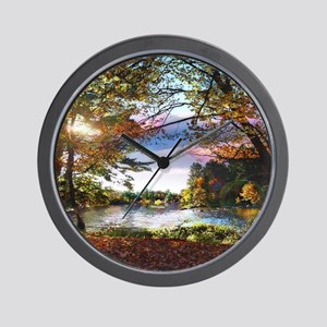 Autumn Country Wall Clock