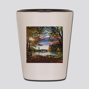 Autumn Country Shot Glass