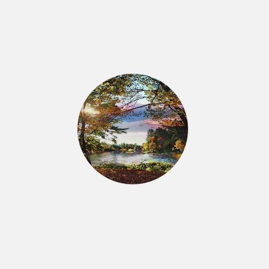 Autumn Country Mini Button