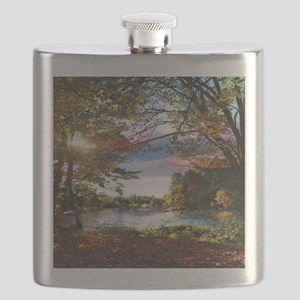 Autumn Country Flask