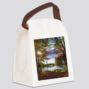 Autumn Country Canvas Lunch Bag