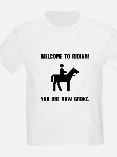 Horseback Riding Broke T-Shirt
