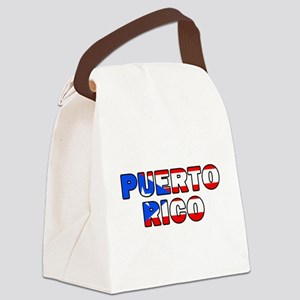 Puerto Rico Canvas Lunch Bag