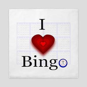 I love Bingo Queen Duvet