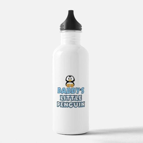 Daddy's Little Penguin Water Bottle