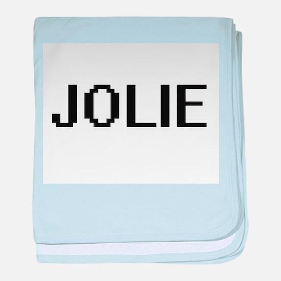 Jolie digital retro design baby blanket