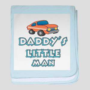 Daddy's Little Man baby blanket