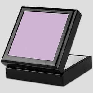 Solid Lavender Keepsake Box