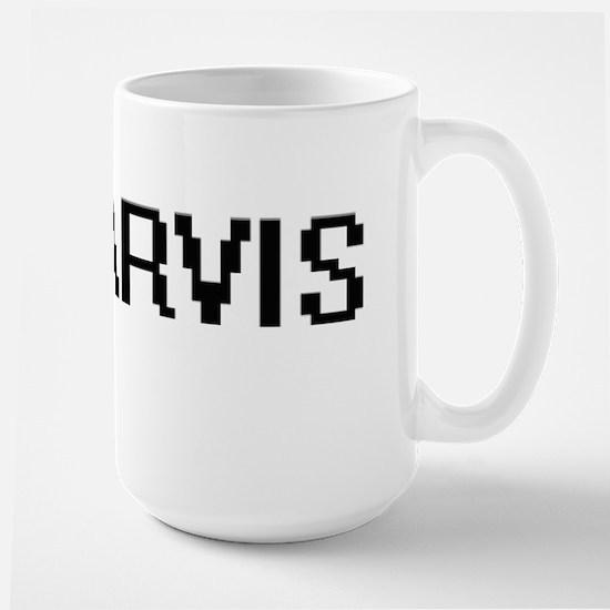 Jarvis digital retro design Mugs